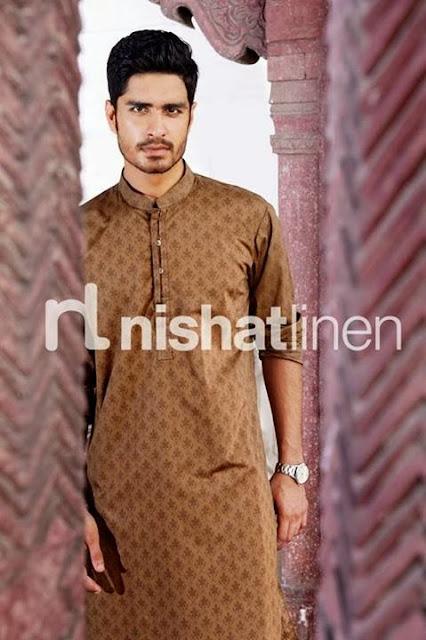 Naqsh Men Collection by Nishat Linen