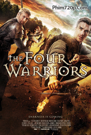 The Four Warriors 2015 poster