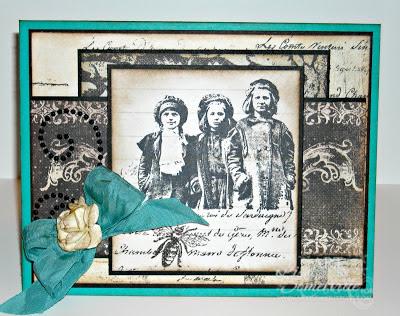 Stamps - Artistic Outpost Paperboy Designer Lisa Somerville