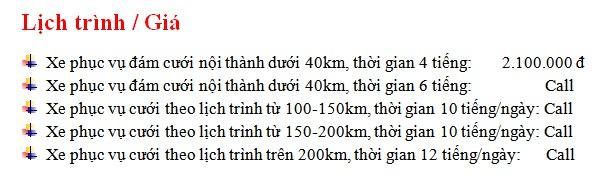 Bảng giá cho thuê xe 35 chỗ Samco tại Hà Nội
