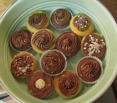 cakes, cupcakes, chocolate, icing,sugar, choc