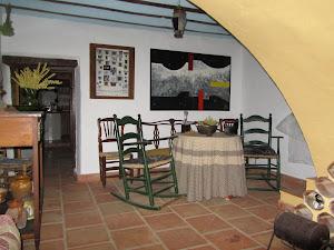Cuadro en el cortijo de José Luís en la Sierra  a