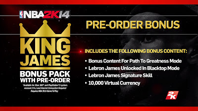 Download NBA 2K13 Bonus King James Package