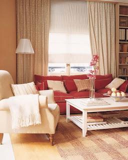 luxury soft colors living room design