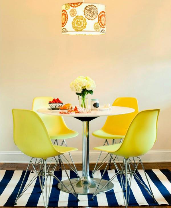 Sillas Amarillas Of Mucho Color En El N Mero De Setiembre De Rue Mag A
