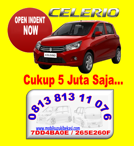 Spesifikasi, Harga dan Promo Suzuki Celerio