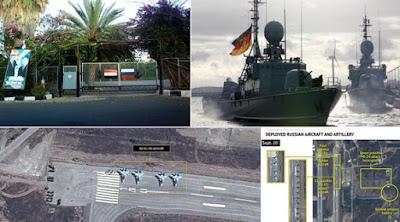 militer rusia dengan suriah