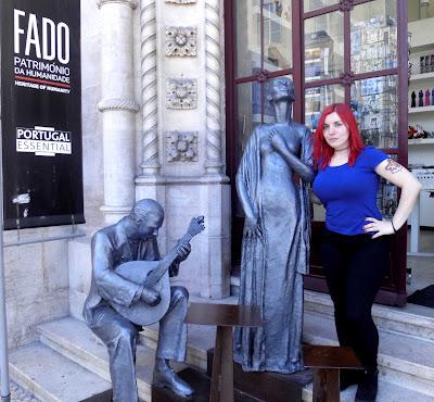 fado estacion lisboa estatuas