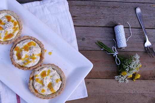 Holunderweg 18 Orangen-Mascarpone-Tartes mit Mohn Foodblog Blog