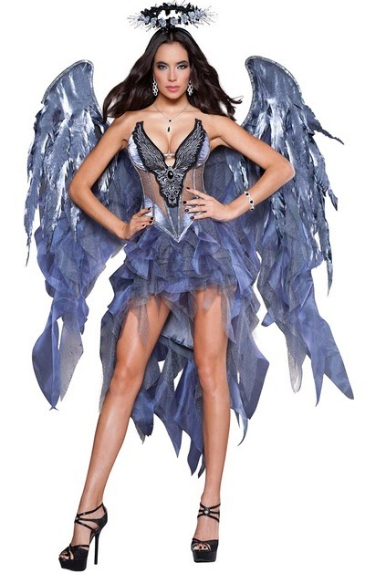 Halloween Deluxe Dark Angel Costume