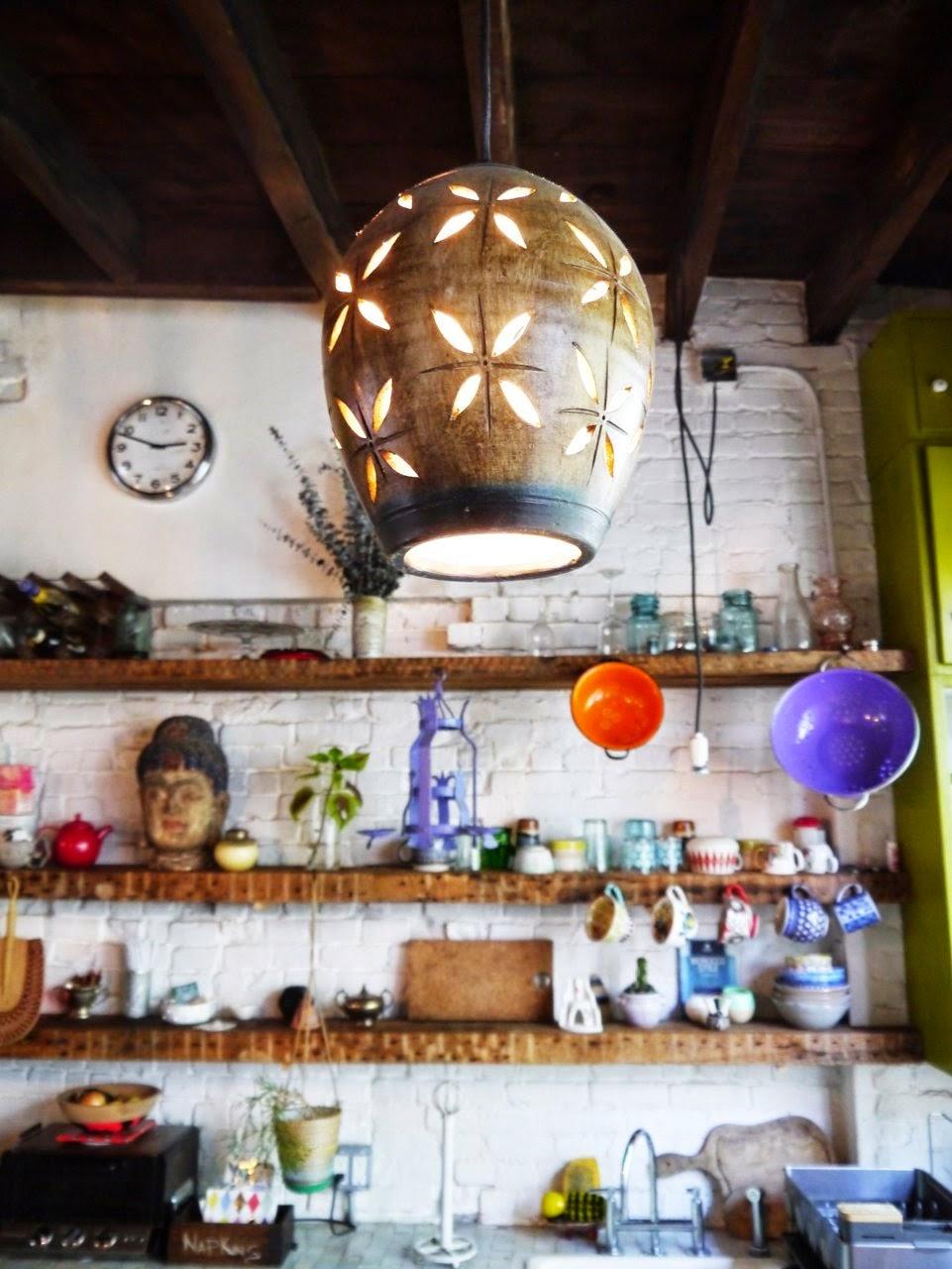 Eclectic+brooklyn+home+art+design+interior+kitchen+inspiration