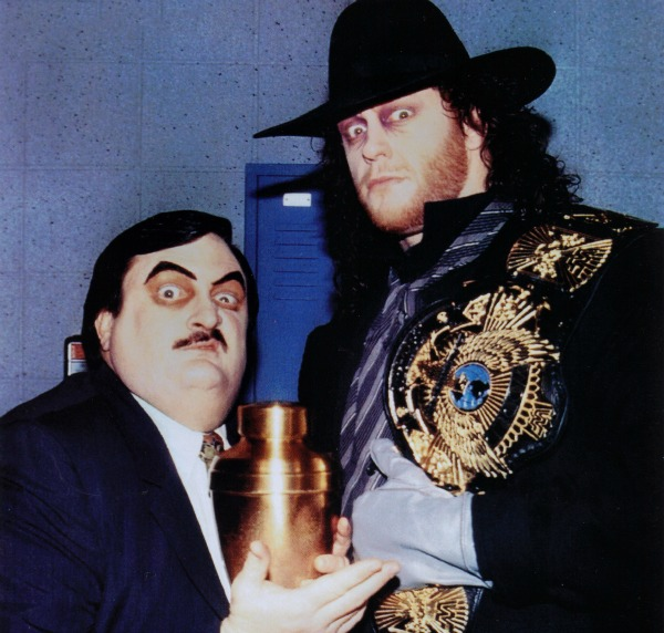 wwe com has announced that long time manager for the undertaker paul