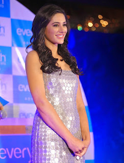 Nargis Fakhri  Pictures in Short Dress at Everyouth Naturals Face Wash Launch  26).jpg