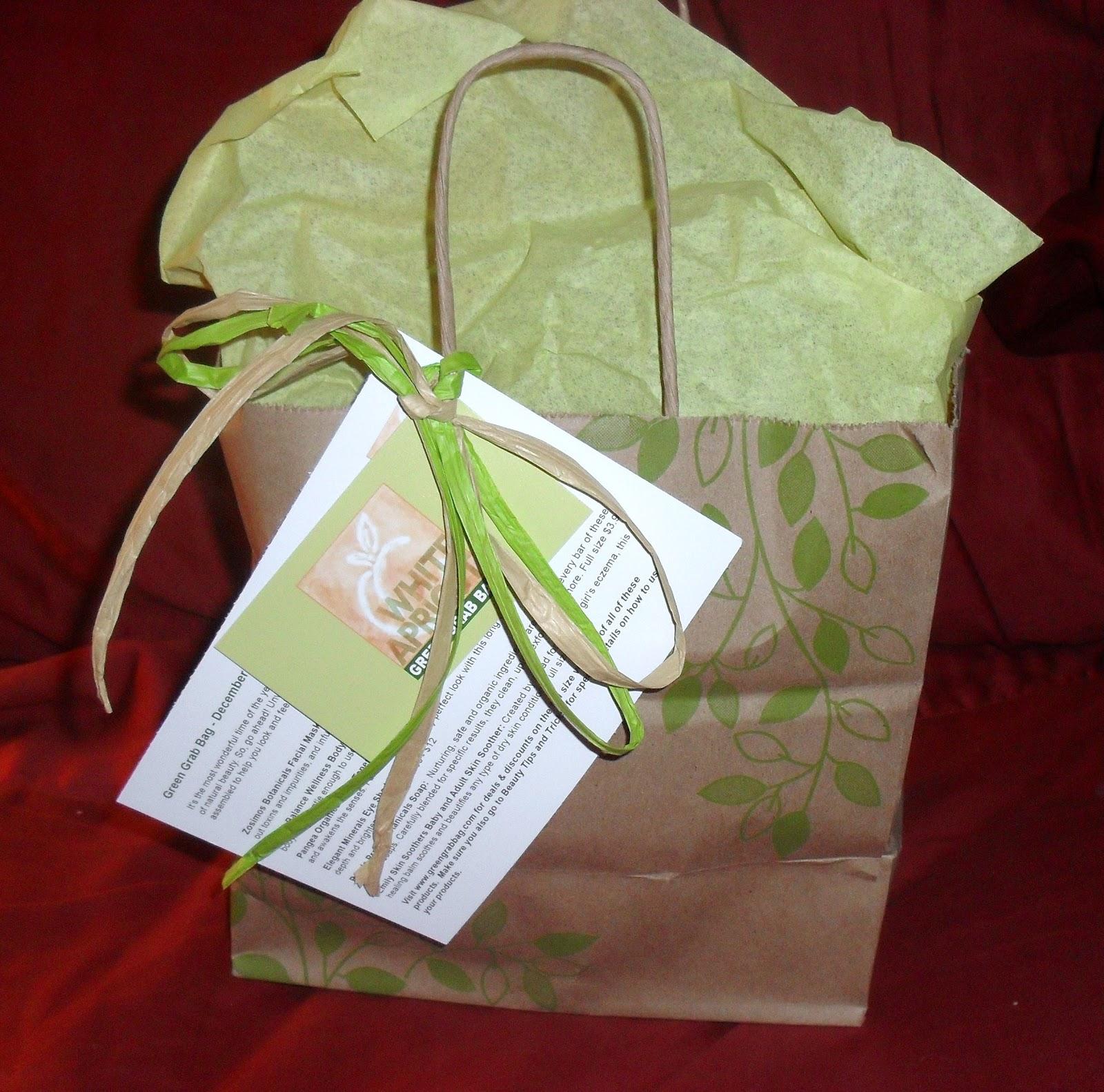Review of Green Grab Bag Natural Beauty Box