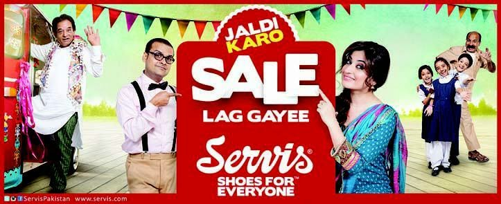 Servis Shoes For Everyone Sale in Pakistan 2015 Price List