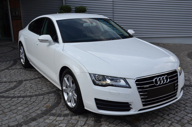 Audi A7 2013 White Wallpapers Interiors And Exteriors