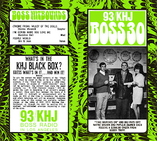 KHJ Boss 30 No. 133 - Bobby Tripp