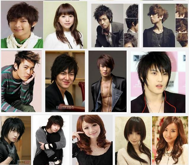 tren+rambut+korea+terbaru Trend Rambut Korea Cewek dan Cowok 2013