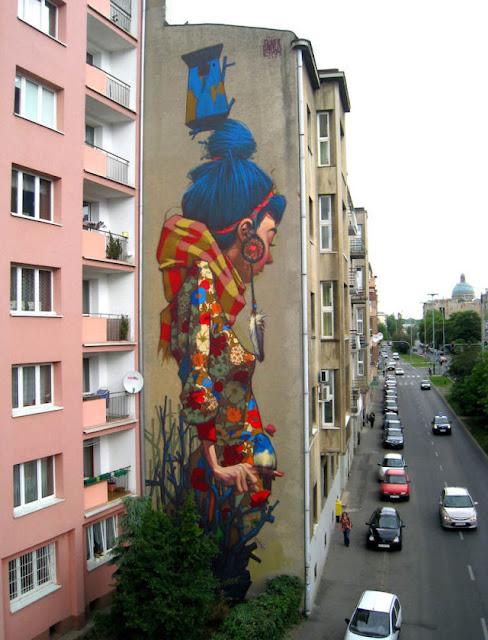 StreetartistSainergoesbiginPoland Imgur