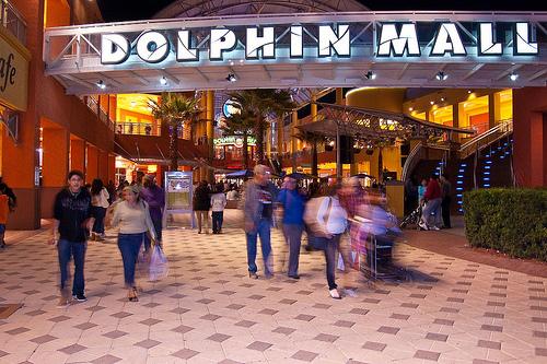 dolphin mall miami guia de compras