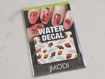 Modi water decal