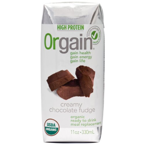 Orgain creamy chocolate fudge