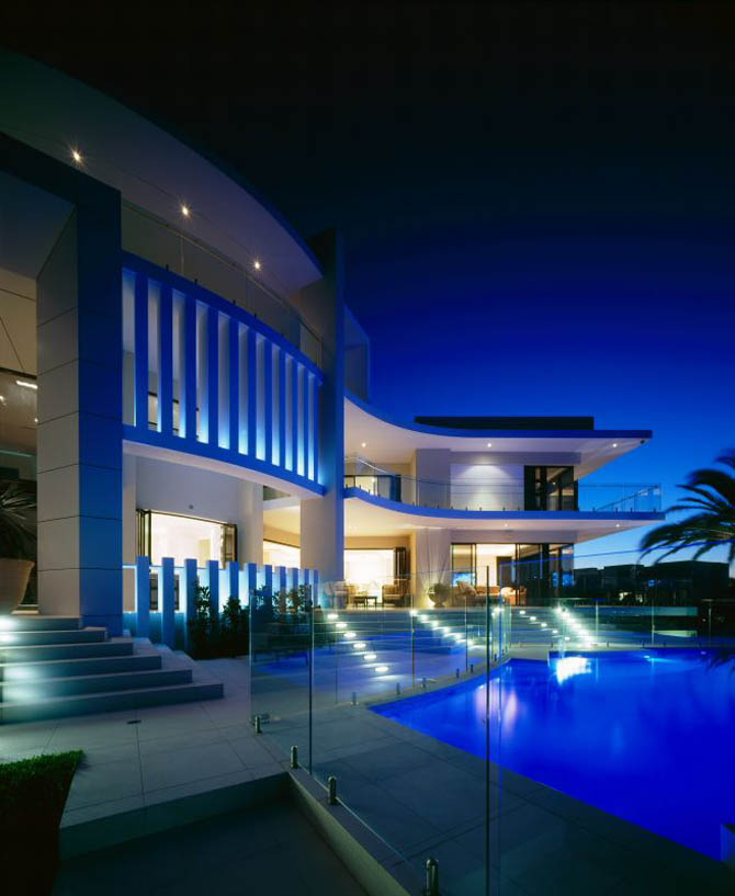 New Home Designs Latest Modern Luxury Homes Beautiful: Luxury Houses, Villas And Hotels: Modern White House