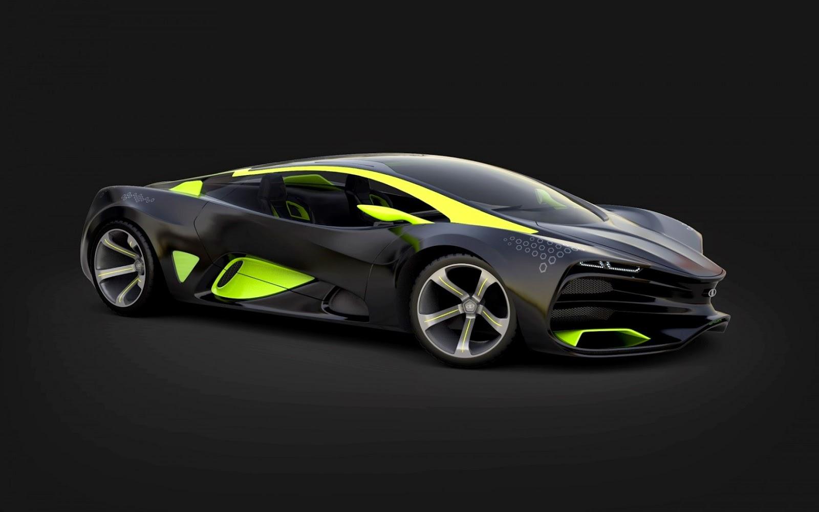 Lada Raven Full HD Wallpaper Super Car