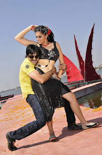 Raviteja,topsy,kajal new stills in veera movie