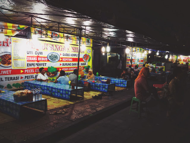Yogyakarta Street Food Stall
