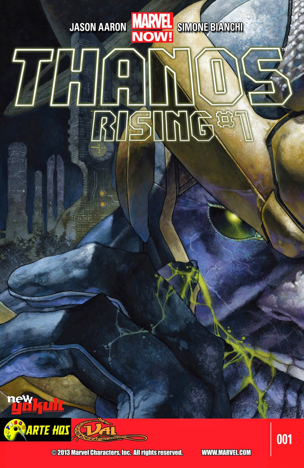 Nova Marvel! Thanos Rising #1