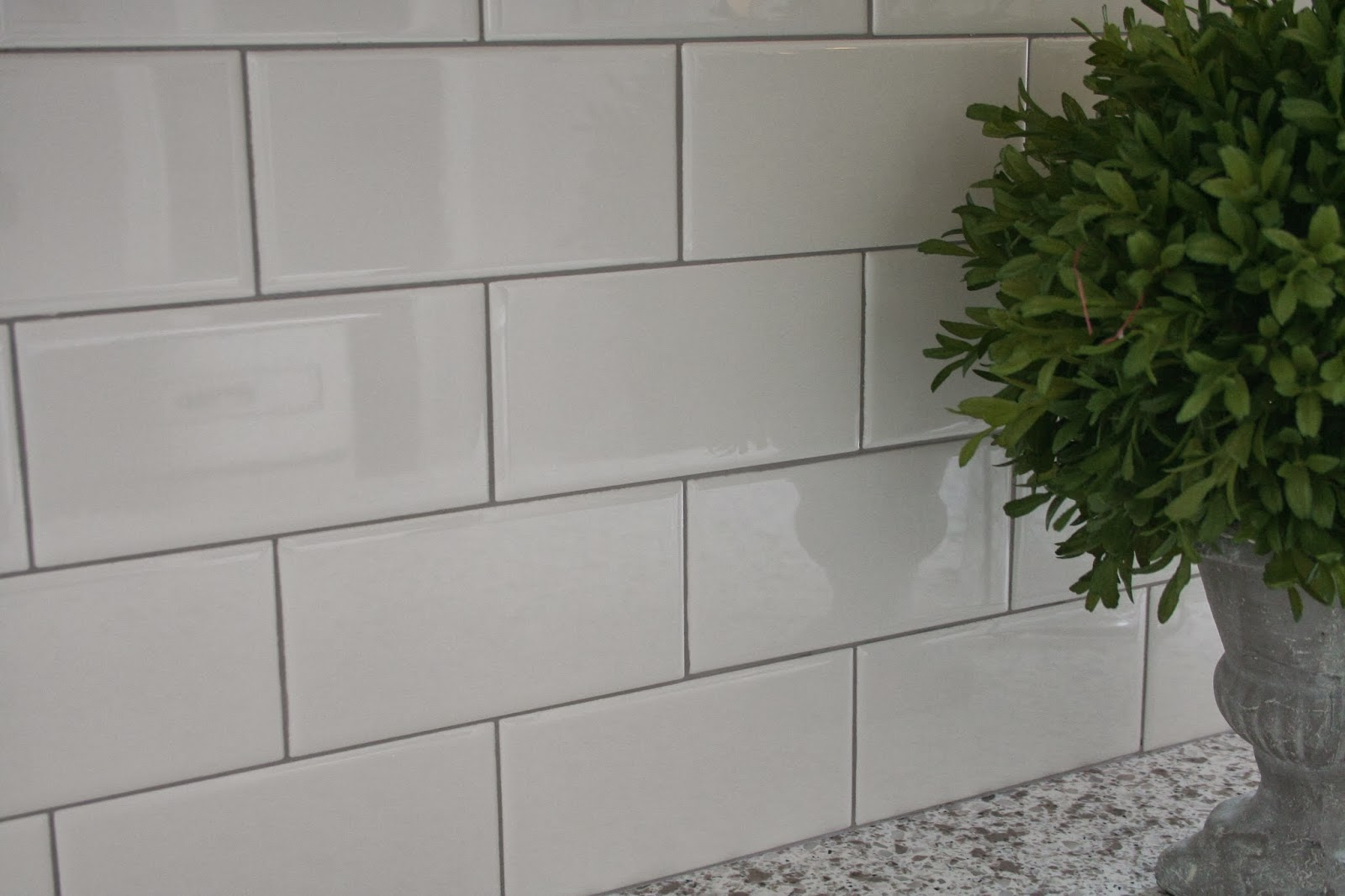 White Tile Bathroom Gray Grout delorean gray grout with white subway tile | tile | pinterest
