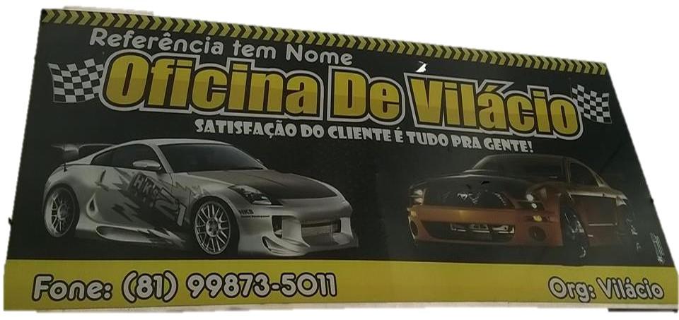 OFICINA DO VILÁCIO - VICÊNCIA-PE