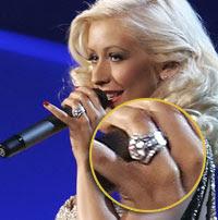 Christina Aguilera Wedding Ring More Aishwarya Rai Pictures