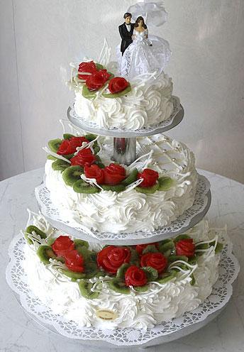торти з мастики весільні фото