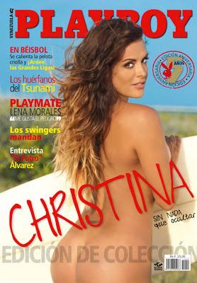 Christina Dieckmann En El To Aniversario De Playboy Venezuela