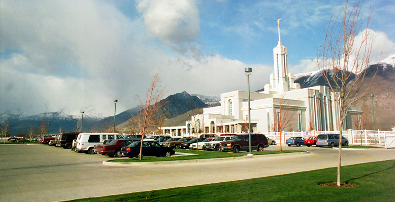Mount Timpanogos Utah Temple, March 30, 2000