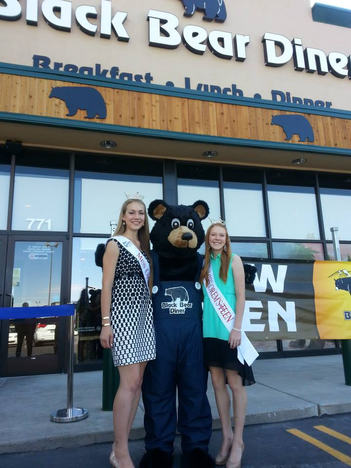 Miss Orem & Teen Blog: Bears, Shovels, Gowns, and Crowns