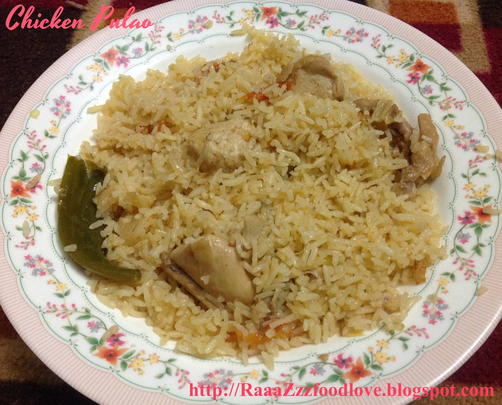 Indian food recipes indian recipes desi food desi recipes chicken pulao forumfinder Images