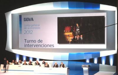 Intervención da CIG BBVA na Xunta Xeral de Accionistas 2012