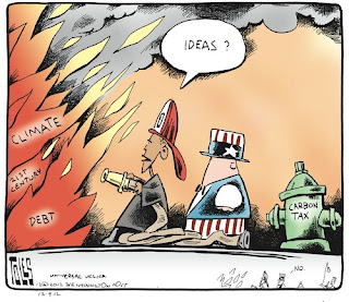 Tom Toles cartoon | fixing climate change and the debt together