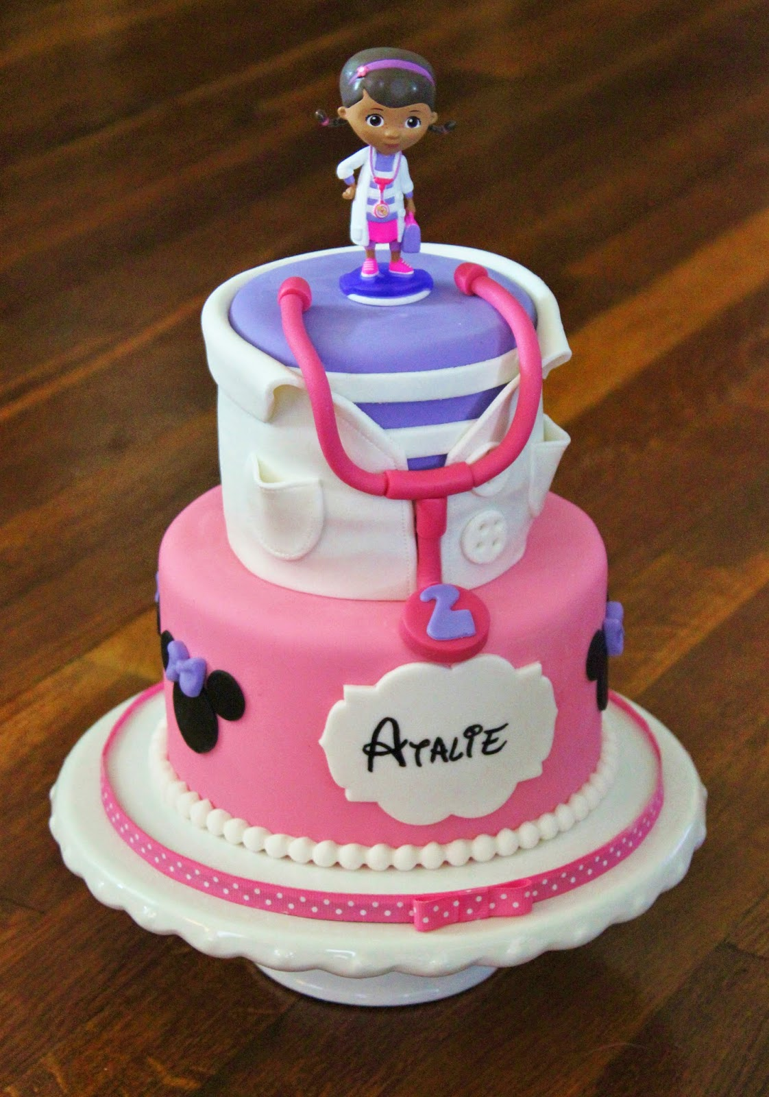 Cakes By Becky Doc Mcstuffins Minnie Mouse Birthday