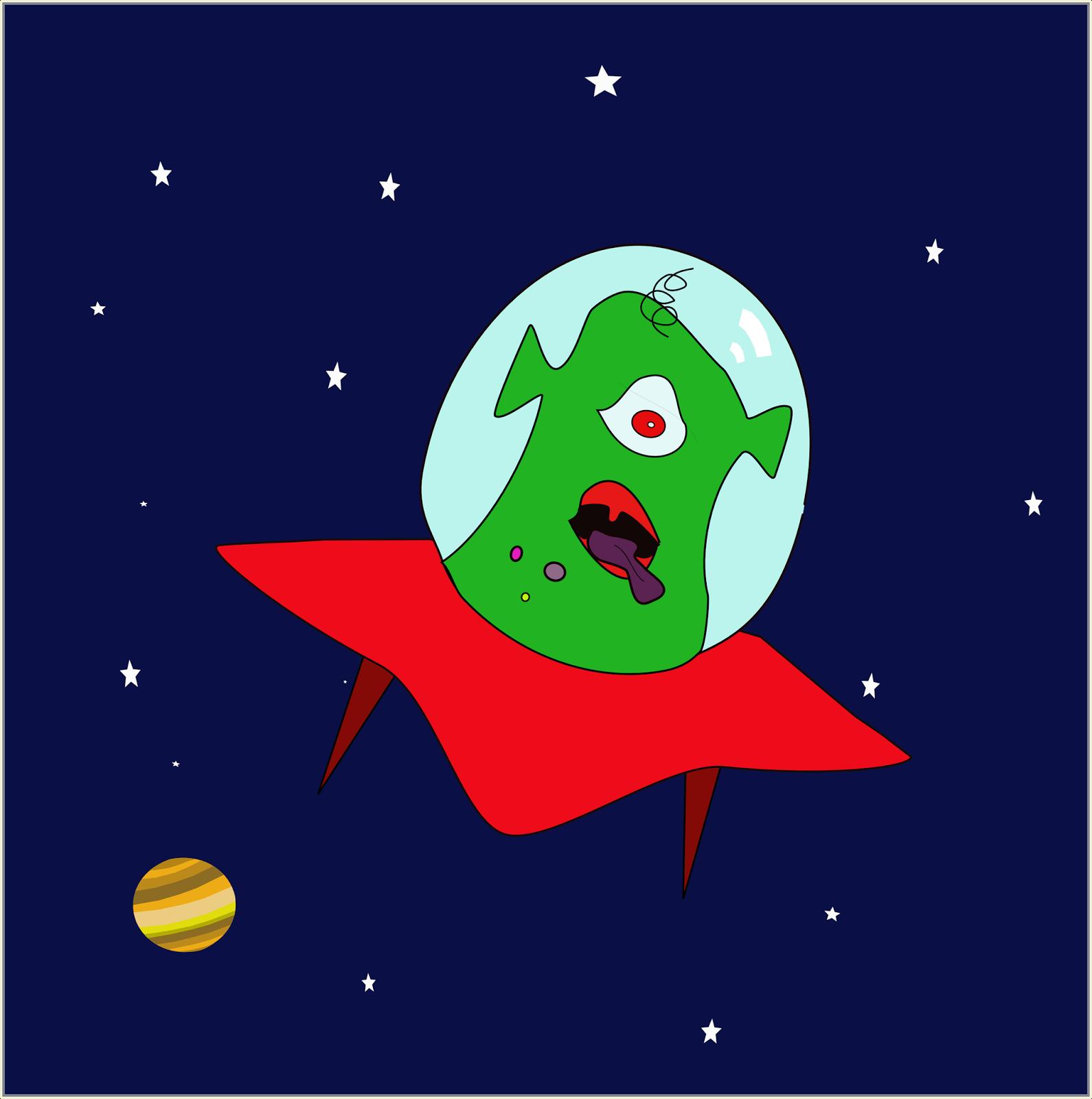 Alien, Extraterrestre,
