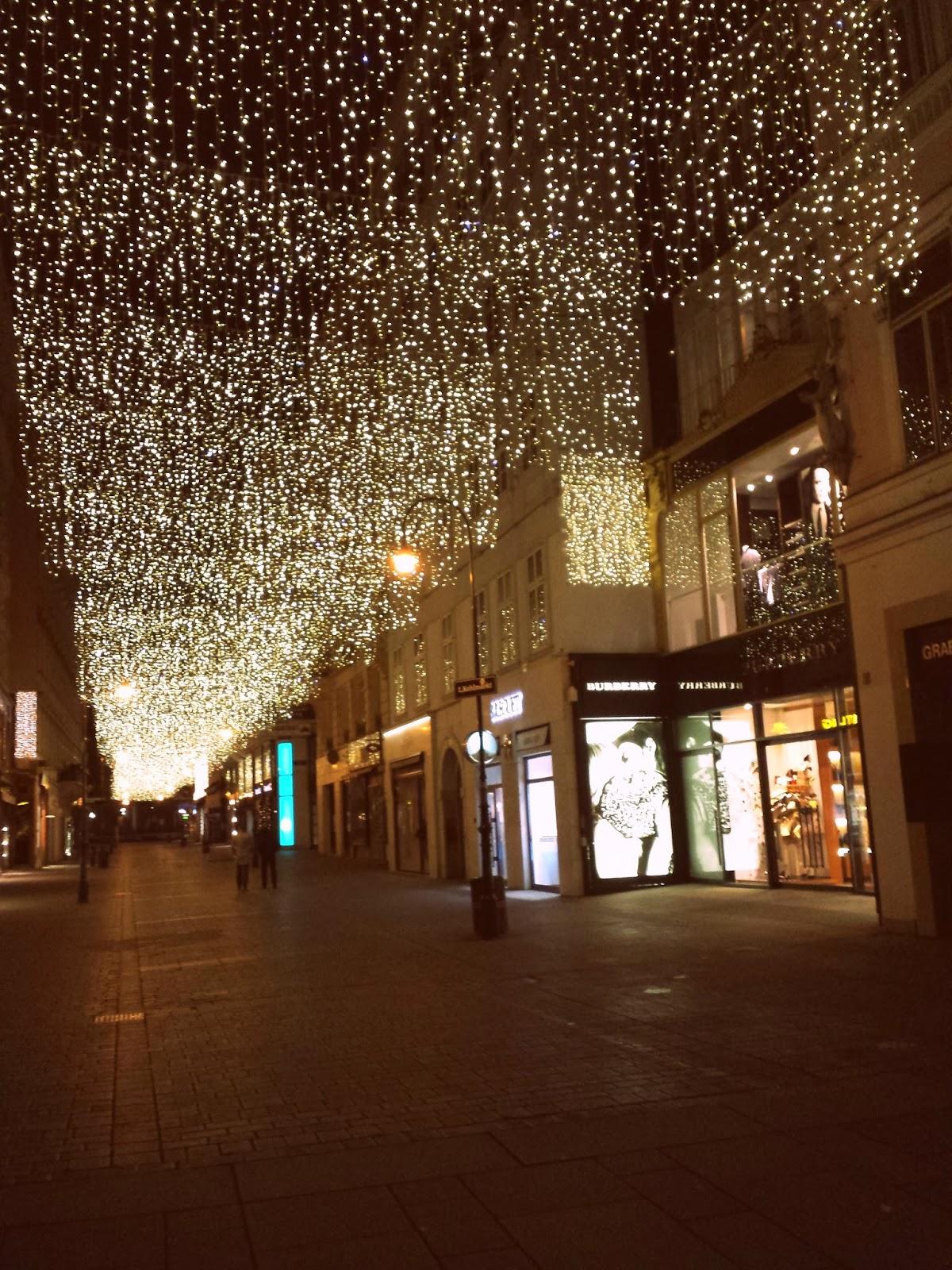 wien, vienna, dunaj, christmas lights