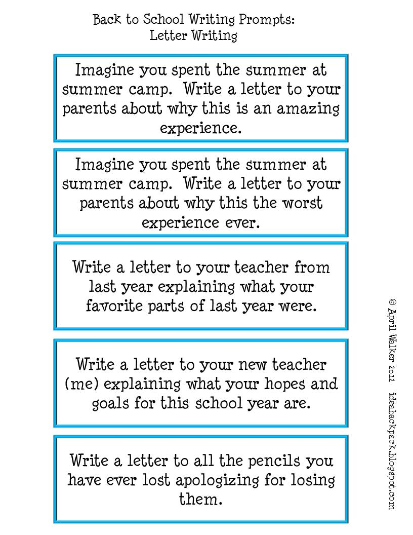 3rd grade expository writing prompts