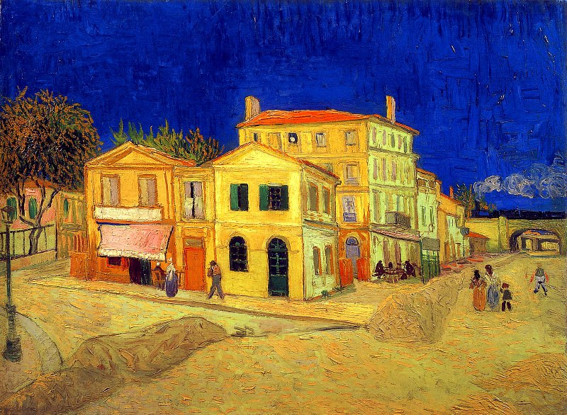 House Paintings Adorable Of Vincent Van Gogh Yellow House Photos
