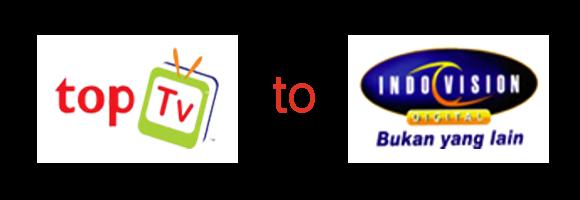 Cara Upgrade/Pindah/Migrasi Siaran dari Top TV ke Indovision