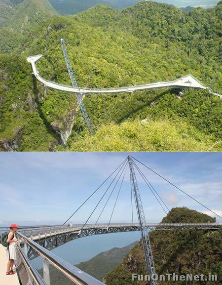 Pulau Langkawi's Suspended Bridge (Malaysia)