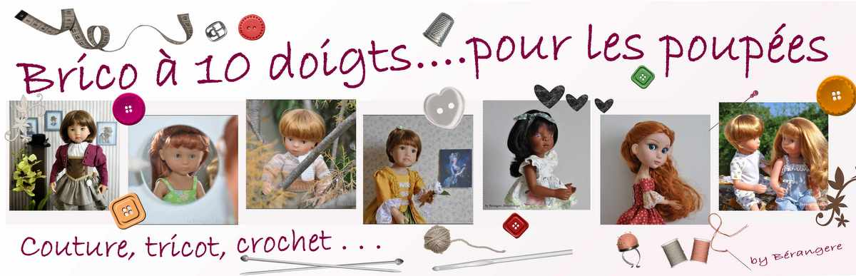 Brico 10 doigts pour les poupées
