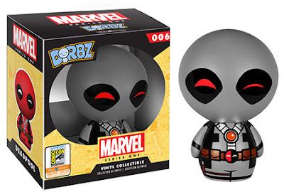 "San Diego Comic-Con 2015 Exclusive Marvel ""X-Force"" Deadpool Dorbz 3"" Vinyl Figure by Funko"